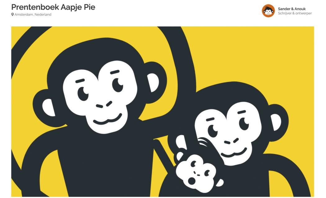 Blog Pie het avontuur begint crowdfunding voorverkoop prentenboek drukken voor baby's peuters en kleuters en een leuk kraamcadeau voor nieuwe ouders