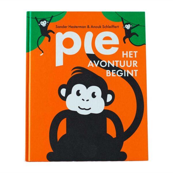 aapje Pie Prentenboek Pie het avontuur begint PIE2020-001 kraamcadeau