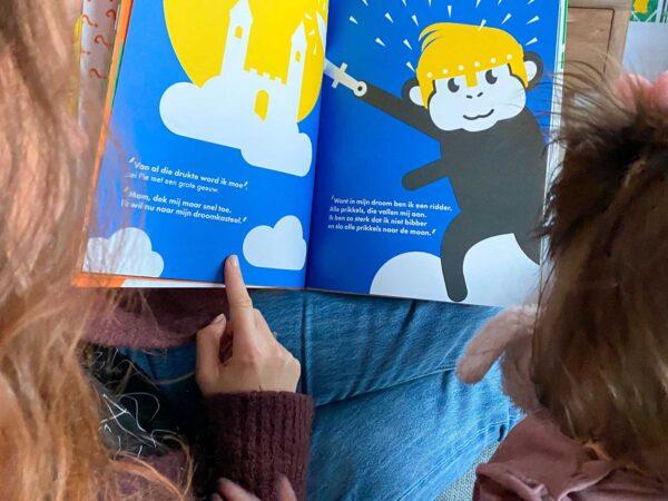 prentenboek Pie het avontuur begint voorlezen ridder pie en de prikkels