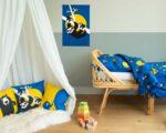 Pie Kinderkamer make-over tips junior dekbedovertrek luiaard Pie groen 120 x 150 Wild nights